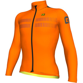 Alé Cycling Clima Protection 2.0 Warm Air Langermede Sykkeltrøyer Herre Orange